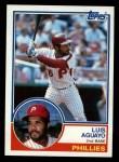 1983 Topps #252  Luis Aguayo  Front Thumbnail