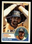1983 Topps #329  Randy Niemann  Front Thumbnail