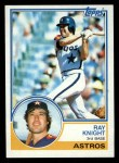 1983 Topps #275  Ray Knight  Front Thumbnail