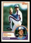 1983 Topps #717  Scott Sanderson  Front Thumbnail