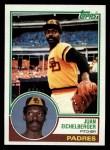 1983 Topps #168  Juan Eichelberger  Front Thumbnail