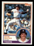 1983 Topps #373  Kevin Saucier  Front Thumbnail