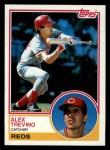 1983 Topps #632  Alex Trevino  Front Thumbnail