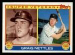 1983 Topps #636   -  Graig Nettles Super Veteran Front Thumbnail