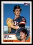 1983 Topps #429  Ed Whitson  Front Thumbnail