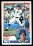 1983 Topps #29  Randy Jones  Front Thumbnail