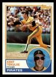 1983 Topps #17  Kent Tekulve  Front Thumbnail