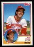 1983 Topps #191  Joe Price  Front Thumbnail