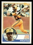 1983 Topps #667  Dick Davis  Front Thumbnail