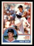 1983 Topps #318  John Tudor  Front Thumbnail