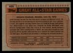 1983 Topps #405   -  Steve Rogers All-Star Back Thumbnail
