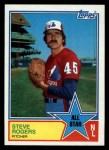 1983 Topps #405   -  Steve Rogers All-Star Front Thumbnail