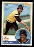 1983 Topps #355  Jim Bibby  Front Thumbnail