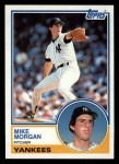 1983 Topps #203  Mike Morgan  Front Thumbnail