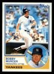1983 Topps #782  Bobby Murcer  Front Thumbnail