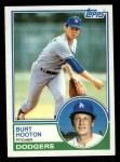 1983 Topps #775  Burt Hooton  Front Thumbnail