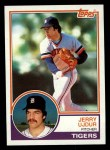 1983 Topps #174  Jerry Ujdur  Front Thumbnail