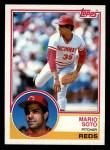 1983 Topps #215  Mario Soto  Front Thumbnail