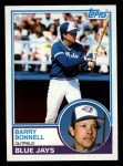 1983 Topps #766  Barry Bonnell  Front Thumbnail