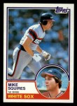 1983 Topps #669  Mike Squires  Front Thumbnail