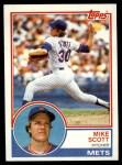1983 Topps #679  Mike Scott  Front Thumbnail