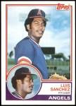 1983 Topps #623  Luis Sanchez  Front Thumbnail