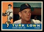 1960 Topps #313  Turk Lown  Front Thumbnail