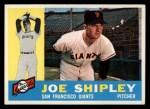 1960 Topps #239  Joe Shipley  Front Thumbnail