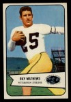 1954 Bowman #1  Ray Mathews  Front Thumbnail