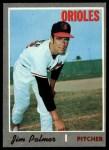 1970 Topps #449  Jim Palmer  Front Thumbnail