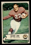 1954 Bowman #43  Buford Long  Front Thumbnail