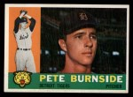 1960 Topps #261  Pete Burnside  Front Thumbnail