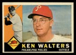 1960 Topps #511  Ken Walters  Front Thumbnail