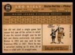 1960 Topps #94  Leo Kiely  Back Thumbnail