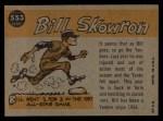 1960 Topps #553   -  Bill Skowron All-Star Back Thumbnail