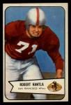 1954 Bowman #66  Robert Bob Hantla  Front Thumbnail