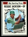 1970 Topps #459   -  Reggie Jackson All-Star Front Thumbnail