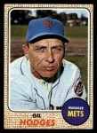 1968 Topps #27 ^COR^ Gil Hodges  Front Thumbnail