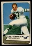 1954 Bowman #33  Hal Giancanelli  Front Thumbnail