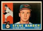 1960 Topps #514  Steve Barber  Front Thumbnail