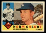 1960 Topps #529  Norm Sherry  Front Thumbnail