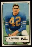 1954 Bowman #115  Al Carmichael  Front Thumbnail