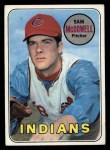 1969 Topps #220  Sam McDowell  Front Thumbnail