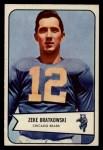 1954 Bowman #11  Zeke Bratkowski  Front Thumbnail
