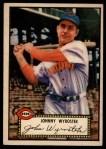 1952 Topps #13 RED John Wyrostek  Front Thumbnail