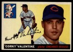 1955 Topps #44  Corky Valentine  Front Thumbnail