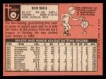 1969 Topps #56  Rich Reese  Back Thumbnail