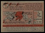 1958 Topps #267  Sherm Lollar  Back Thumbnail