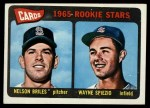 1965 Topps #431   -  Nelson Briles / Wayne Spiezo Cardinals Rookies Front Thumbnail