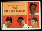 1961 Topps #44   -  Rocky Colavito / Jim Lemon / Mickey Mantle / Roger Maris AL HR Leaders Front Thumbnail